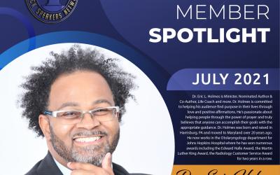 Member Spotlight: Dr. Eric C. Holmes