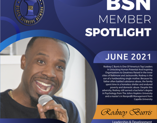 Member Spotlight: Rodney C. Burris