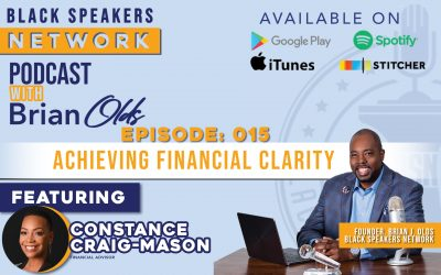 Black Speakers Network EP15: Achieving Financial Clarity (with Constance Craig-Mason)